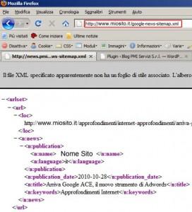 File compilato! Avete la vostra google news sitemap xml da segnalere!