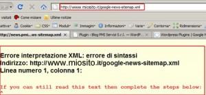 Messaggio di errore restituito dal browser: il file non è ancora compilato!