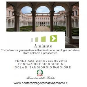 conferenza amianto a Venezia
