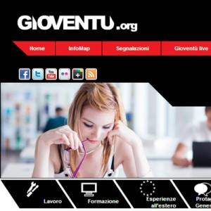 Gioventu.org portale informativo giovani