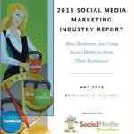 infografica report 2013 social media marketing