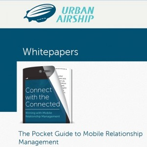 guida mobile urbanairship