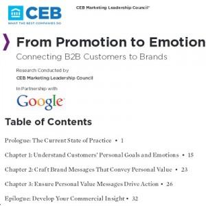 copertina studio Google e CEB
