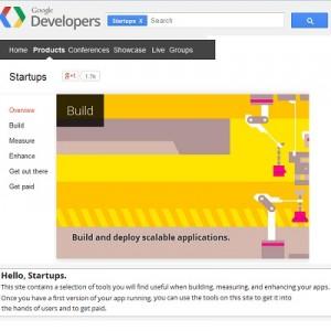 startup google developer