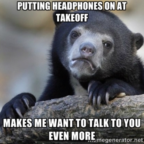 Confession Bear Headphones