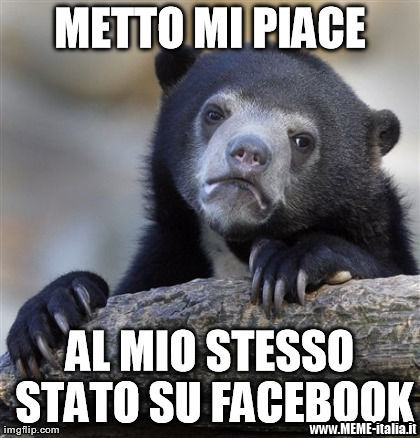 Confession Bear facebook