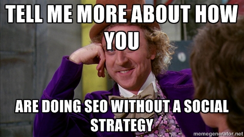 Willy Wonka meme seo