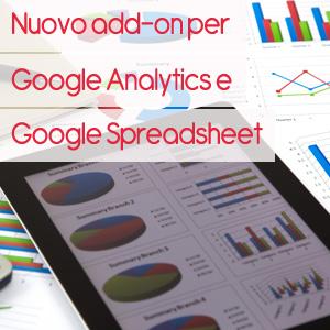 add on google analytics fogli di calcolo