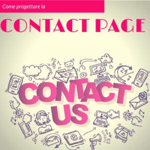 progettare pagina contatto