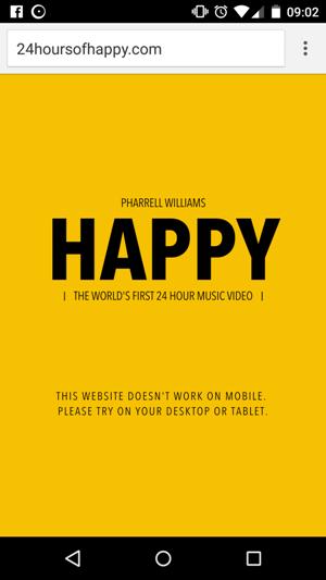 video non fruibili da mobile