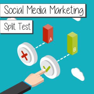 a/b test social network