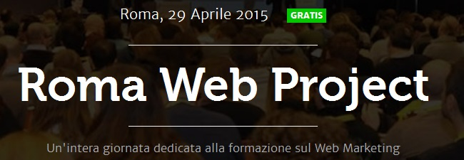 evento web marketing Roma