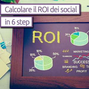 calcolo roi social network