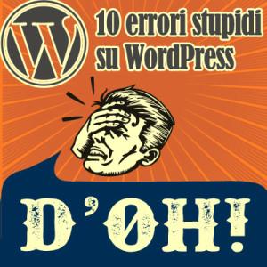 errori wordpress