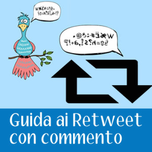 twitter retweet commento