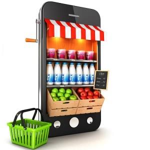 acquisti generi alimentari da mobile