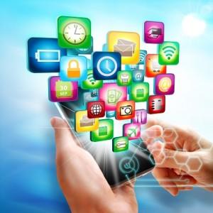 smartphone con app mobile