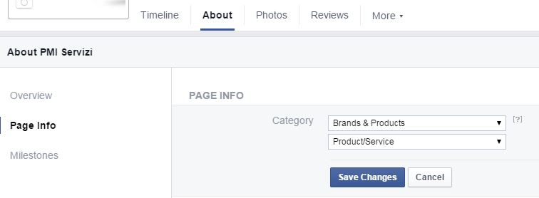 facebook-sottocategoria-pagina