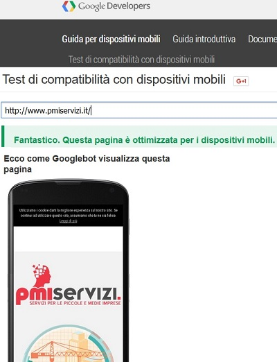sito web pmiservizi responsive