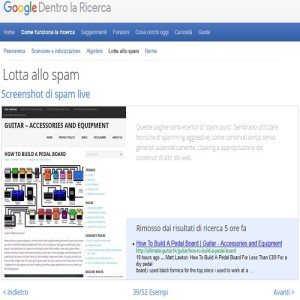 google lotta allo spam