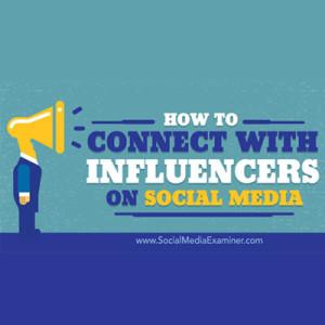 Influencer e social media
