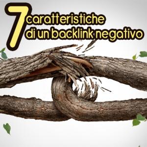 seo backlink negativi